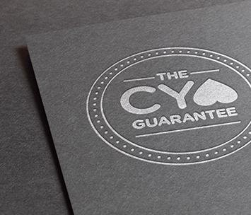 Cellfina Yearlong Assurance Guarantee logo